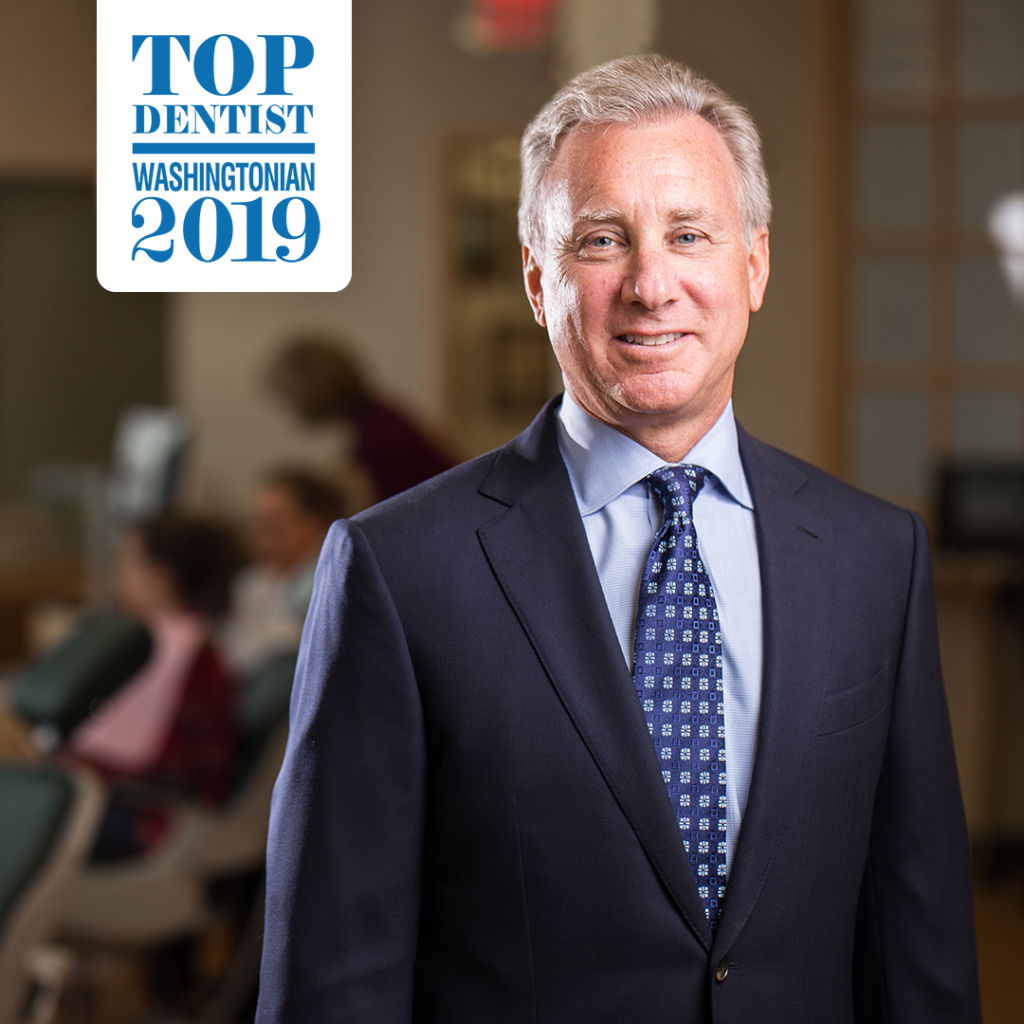Dr. Kolman P. Apt, Washingtonian Top Dentist 2019 recipient.